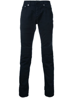 джинсы с ребристыми панелями Neil Barrett