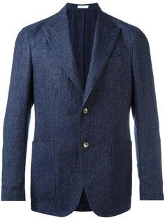 пиджак с заостренными лацканами Boglioli