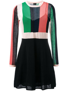 трикотажное платье А-образного силуэта Ps By Paul Smith