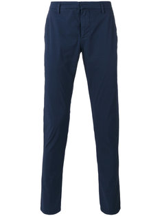 зауженные брюки Dondup