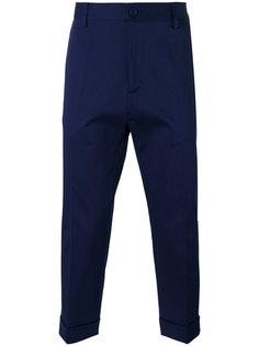 брюки строгого кроя Love Moschino