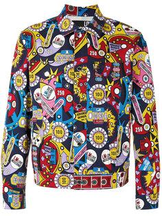куртка с принтами Love Moschino