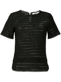 трикотажная блузка с короткими рукавами  Blugirl