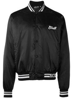 куртка-бомбер  с принтом get high Gcds