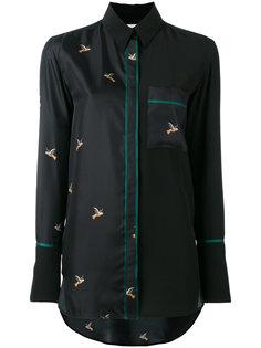 рубашка с принтом птиц Victoria Victoria Beckham