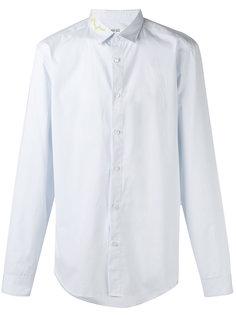 рубашка с принтом на воротнике Kenzo
