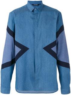 рубашка с геометрическим принтом  Neil Barrett
