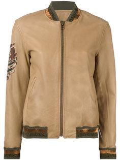 куртка с заплаткой на рукаве Mr & Mrs Italy