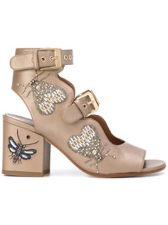 beaded insect sandals Laurence Dacade