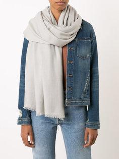 шарф с необработанными крями Denis Colomb