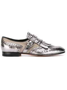 buckle loafers Santoni