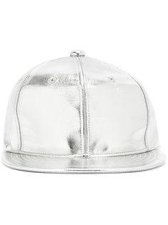 кепка с эффектом металлик Junya Watanabe Comme Des Garçons