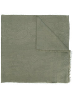 шарф с тональным принтом Etro