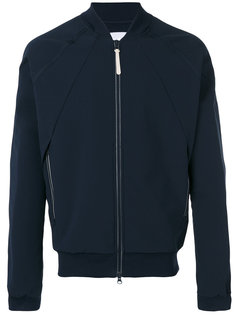 куртка-бомбер  с плиссировкой сзади Adidas Originals