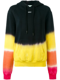 tie-dye hoodie Off-White