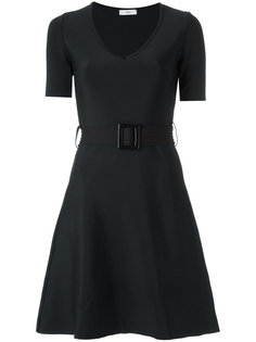 belted dress Egrey