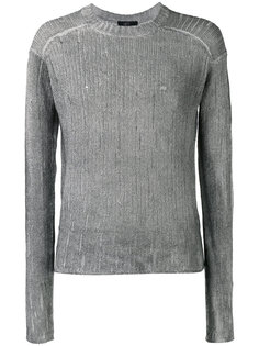 рваный вязаный свитер Lost & Found Ria Dunn