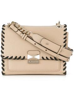 сумка на плечо с контрастной отделкой  Karl Lagerfeld