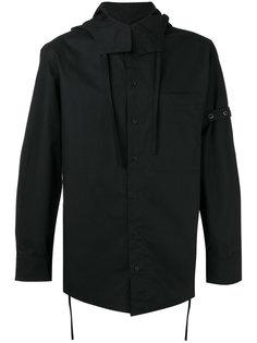 рубашка с воротником на завязках Craig Green