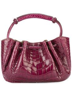 сумка-клатч с тиснением под крокодила  Giorgio Armani Vintage