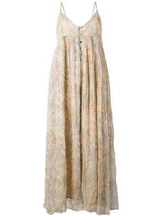 платье с узором Mes Demoiselles