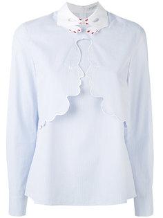 рубашка с вышивкой Vivetta