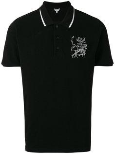 футболка-поло с вышивкой Kenzo