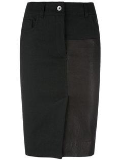 юбка-карандаш с панельным дизайном Haider Ackermann
