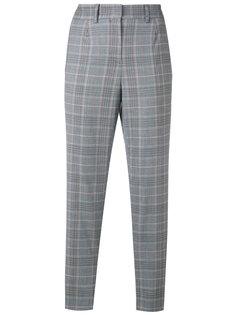 классические клетчатые брюки Salvatore Ferragamo