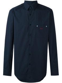 рубашка с нагрудным карманом Fendi
