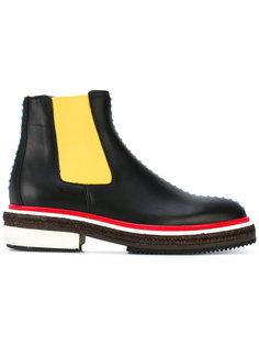 ботинки с контрастной отделкой Christopher Kane