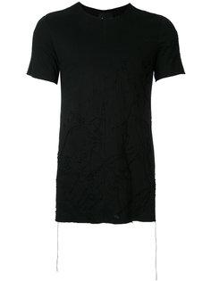 выбеленная футболка  Fagassent