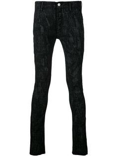 джинсы скинни с принтом  Fagassent