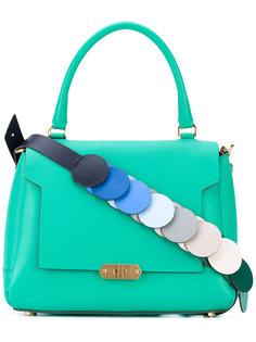 сумка-тоут с контрастной лямкой  Anya Hindmarch