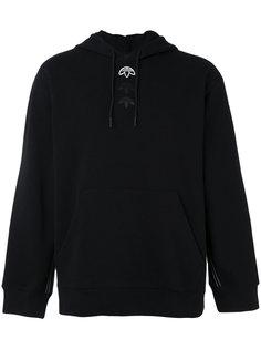 толстовка с логотипом и капюшоном Adidas Originals By Alexander Wang