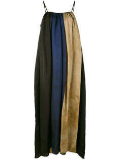 block stripes maxi dress Uma Wang