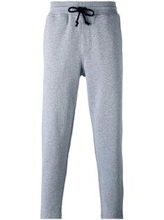 спортивные брюки кроя слим Brunello Cucinelli