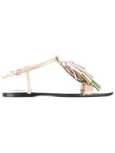 сандалии с Т-образным ремешком Anna Baiguera