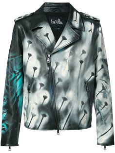 hand painted distressed jacket Haculla