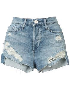 ripped denim shorts 3X1