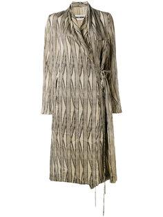 Cayman wrap coat Uma Wang