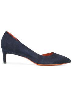 mid heel pumps Santoni
