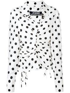 polka dot blouse Jacquemus