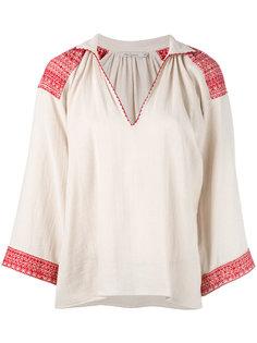 блузка с вышивкой Mes Demoiselles