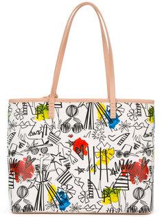 сумка-тоут с принтом  Alice+Olivia