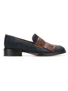 fringed slippers Sarah Chofakian