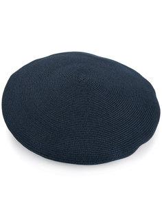 ribbed knit beret  Kijima Takayuki