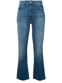 cropped kick jeans Mother