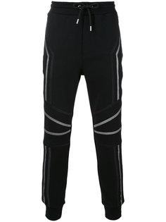 спортивные брюки с контрастными полосками Les Hommes