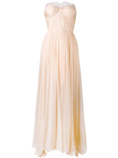 Anna lace-panelled gown Maria Lucia Hohan